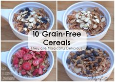 10 Grain-Free Cereal Recipes & More Breakfast Ideas - Satisfying Eats | www.satisfyingeats.com