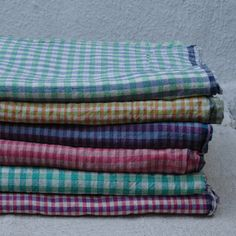 Gingham Lungi | The Society inc. by Sibella Court