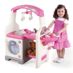 Amazon.com: Step2 Deluxe Nursery Center, Pink/White: Toys & Games