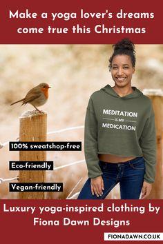 Vegan Friendly, Eco Friendly, Yoga Clothing Brands, Vegan Clothing, Yoga Gifts, Online Yoga, Take Care Of Me, Yoga Inspiration, Fun Workouts