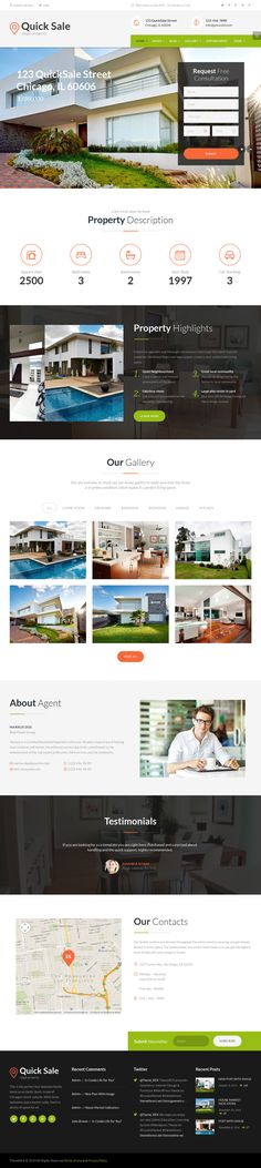 Quick Sale | Single Property Real Estate Wordpress Theme #wptheme #wordpress #web Live Preview and Download: http://themeforest.net/item/quick-sale-single-property-real-estate-theme/11004473?ref=ksioks