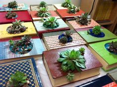 upcycled planters - Google Search