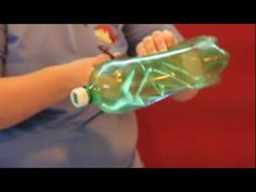 turn  a plastic bottle into a toy