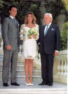 Monaco - 1995 Stephanie & Daniel Ducruet