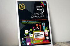 EDJ, école de journalisme  @ La Langue du Caméléon : agence de design stratégique et créatif pour les marques digitales. www.cameleons.com