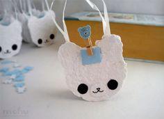 Bear-shaped gift bags