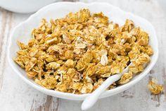[184 cal per serving] - 10-Minute Stovetop Granola