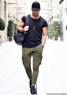 men outfits - 33 the best men's street style 29 ⋆ talkinggames net Best Men's Street Style, Urban Street Style, Plus Size Mens Clothing, Mens Clothing Styles, Stylish Men, Men Casual, Urban Fashion, Mens Fashion, Men Street