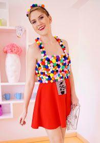The Joy of Fashion: {Halloween}: Homemade Gumball Machine Costume