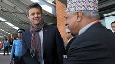 The Crown Prince is travelling with the Danish Red Cross in Nepal.
