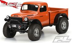 This is a 1946 Dodge Power Wagon Clear Body for Crawlers. Pro-Line is proud to introduce the 1946 Dodge Power Wagon body for Scale Crawlers! Rc Cars And Trucks, Dodge Trucks, Custom Trucks, Pickup Trucks, Dodge Cummins, Jeep Truck, Dodge Power Wagon, 4x4, Classic Chevy Trucks