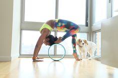 Yoga wheel / Using a Yogawheel