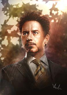 Tony Stark by HolyWiz.deviantart.com on @deviantART