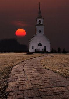 Fort Belmont Sunset, Jackson | Minnesota (by Aaron J. Groen)