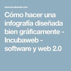 Cómo hacer una infografía diseñada bien gráficamente - Incubaweb - software y web 2.0