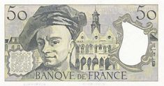 Collection Billet Banque de France - F.67 - 50 francs Quentin de la Tour