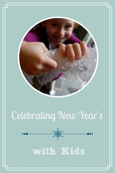 Celebrating New Year's Eve with Kids -- crafts, activities, games for ringing in 2014!