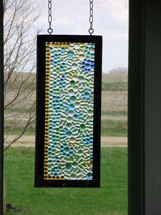 repurposed window by Karen Terry