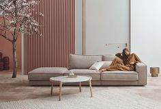 Sofas - elegant and comfy designer sofas with stylish details - bolia Living Room Sofa, Home Living Room, Living Room Decor, Sofa Design, Bolia Sofa, Interior Design Living Room, Living Room Designs, Home Furniture, Furniture Design