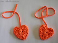 Diy by Paula: Desafío Love Craft: Corazones de Trapillo