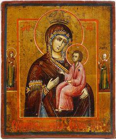 Пресвятая Богородица Скоропослушница, 19 в., частное собрание