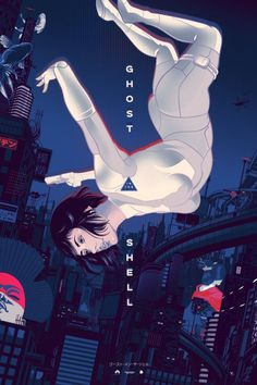 Ghost in the Shell Poster - Vincent Rhafael Aseo