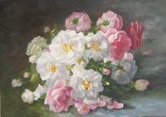 trandafiri  pe fond inchis
