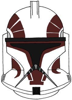 Clone Trooper Captain Keeli's Helmet