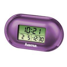 abb Image - Hama, Fashion Mini Travelling Alarm Clock, purple
