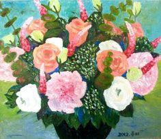 Centerpiece. 2012. 53.0 x 45.5cm. Oil on Canvas.