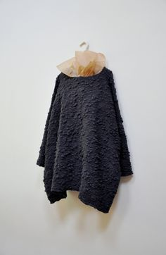 Amy Revier - Horn Pullover - [ actually weaved ]