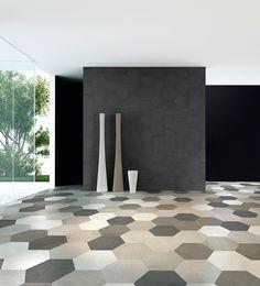 master bath floor Céragrès - DOMUS