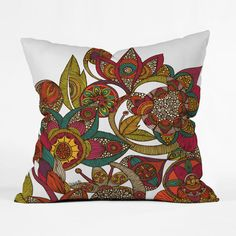 Add a rainbow of colors (and a dose of East Indian magic) with this beautiful garden pillow. Just prop it on your favorite armchair or couch, and watch your space come to life. Choose either pillow wit...  Find the Indian Garden Pillow, as seen in the Bohemian Sanctuary Collection at http://dotandbo.com/collections/bohemian-sanctuary?utm_source=pinterest&utm_medium=organic&db_sku=DNY0019