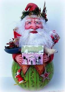 Light and Shadow studio: Rolly poly Santa...again by Tammy Strum