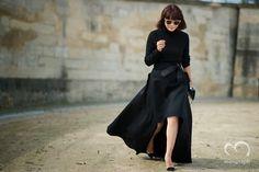 Buyer of Restir Maiko Shibata attends Valentino 2014 Spring Summer Fashion Show at Paris