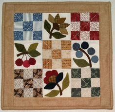 Auntie Ju's Quilt Shoppe  - Quilted Picture #8 kit was $23.99 now $17.99