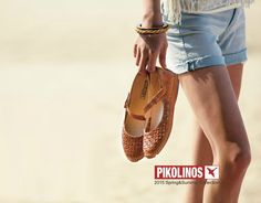 Summer mood! #Pikolinos Spring Summer 2015, Lace Up Shoes, Espadrilles, Mood, Heels, How To Wear, Blue, Collection, Fashion