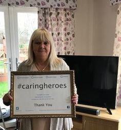Our 'hero' Barbara   - Springhill Care Group Lancashire