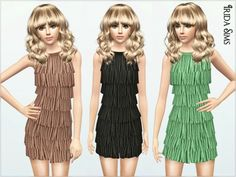 Dress Oh My Love at Irida Sims - Sims 3 Finds