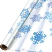 Snowflake Cover Table Roll - Party City $19.99 roll+