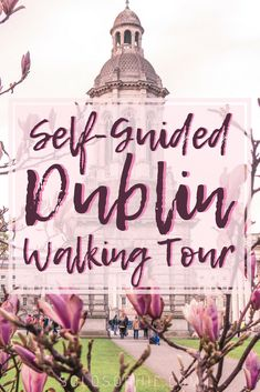 Free & Self-Guided Dublin Walking Tour, Ireland, Europe. Highlights of the Irish capital including Trinity College, Ha'penny Bridge, Book of Kells, Temple Bar, the oldest pub in Ireland and more!