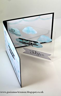 "A lovely card using Stampin' Up ""Sky Is The Limit Stamps Set"", Whisper White & Basick Black card stock, Window Sheet, Multipurpose Liquid Glue, Tear & Tape Adhesive, Tempting Turquoise & Basic Black Stampin Ink Pad. If You like to make one for Your Friend, Mum, Dad or anyone Click the link below to go to Stampin, Up Shop and order Our high quality products. Thank You. http://www2.stampinup.com/ECWeb/default.aspx?dbwsdemoid=5019394"
