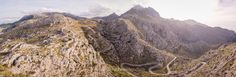 """Aerial Panorama of a Mountain Road on Mallorca, Spain #2 - Mallorca, Spain.  Image available for licensing.  Order prints of my images online, shipping worldwide via  <a href=""""http://www.pixopolitan.net/photographers/oberschneider-christoph-a6030.html"""">Pixopolitan</a> See more of my work here:  <a href=""""http://www.oberschneider.com"""">www.oberschneider.com</a>  Facebook: <a href=""""http://www.facebook.com/Christoph.Oberschneider.Photography"""">Christoph Oberschneider Photography</a> follow me on…"""