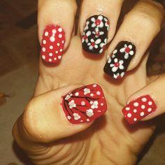 Fantasy, dots, cherry blossom