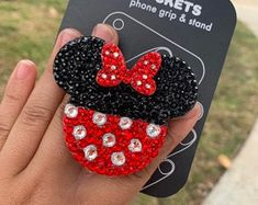 3d Iphone Cases, Cute Phone Cases, Disney Pop, Cute Disney, Popsocket Design, Cute Popsockets, Minnie Mouse Toys, Popsockets Phones, Phone Grip And Stand