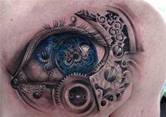 steampunk tattoo - 40 Awesome Watch Tattoo Designs  <3 !