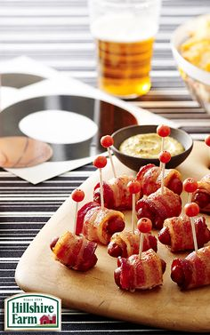 Is your snack table game ready? With Lit'l Smokies Cocktail LInks, it's sure to be a slam dunk! Find recipes and inspiration here!