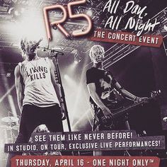 "Video: Popstar! Magazine's Footage From ""R5: All Day All Night"" Showing With R5 April 16, 2015 - Dis411"