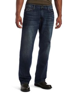 #Lucky #Brand Men's 181 Relaxed Straight Jean in Ol #Neptune       These are huge!       http://amzn.to/HKuw9U