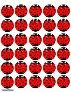 Kandy Kreations: Lady Bug Peppermint Patties Free Printable